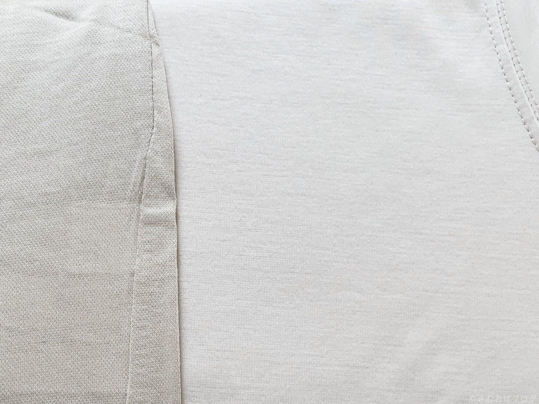 グレージュのTシャツの色味比較 カラー比較