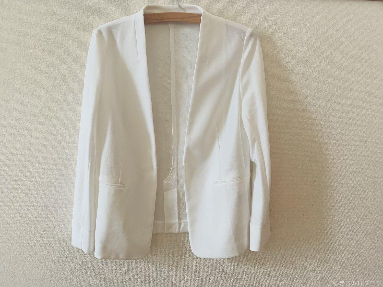 コムサデモード 白ジャケット