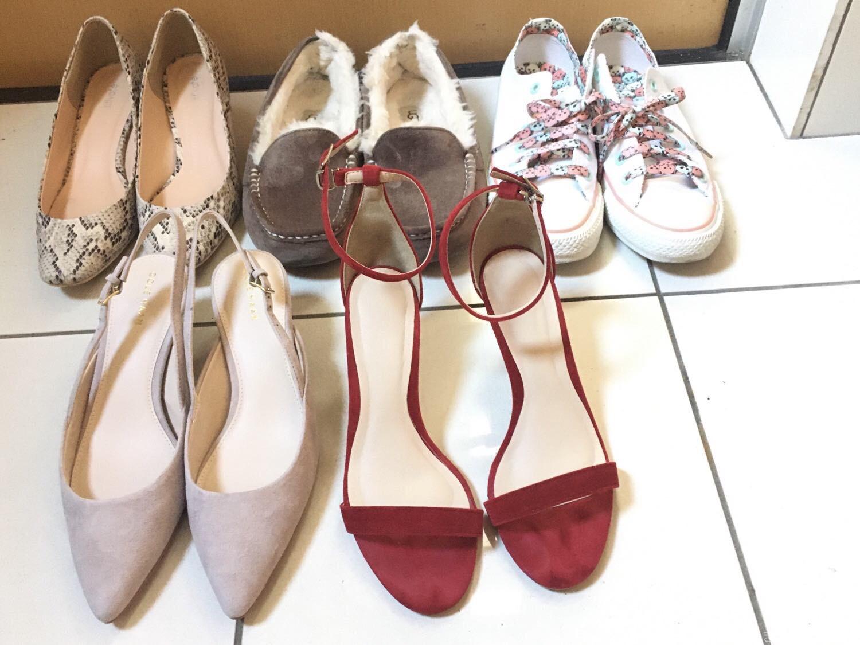 40代後半アラフィフ おひとりさまお出かけ用の靴コレクション