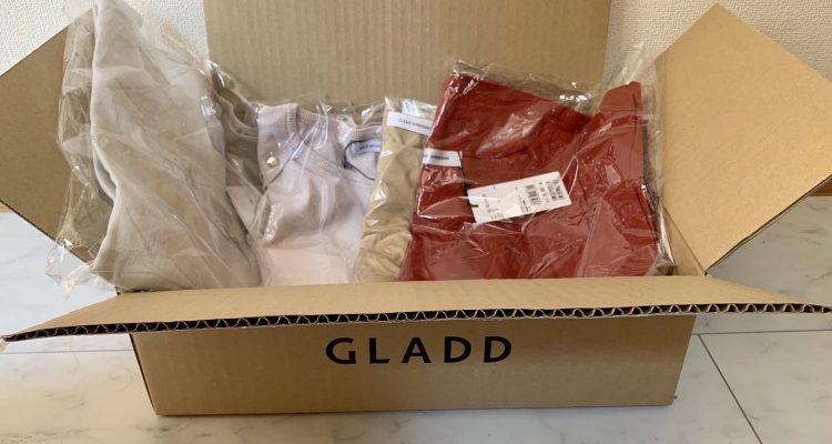アウトレットサイトGLADDで購入した春夏服 トップス