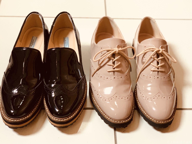 【EVOL】ILIMA レースアップシューズとローファー(おじ靴)