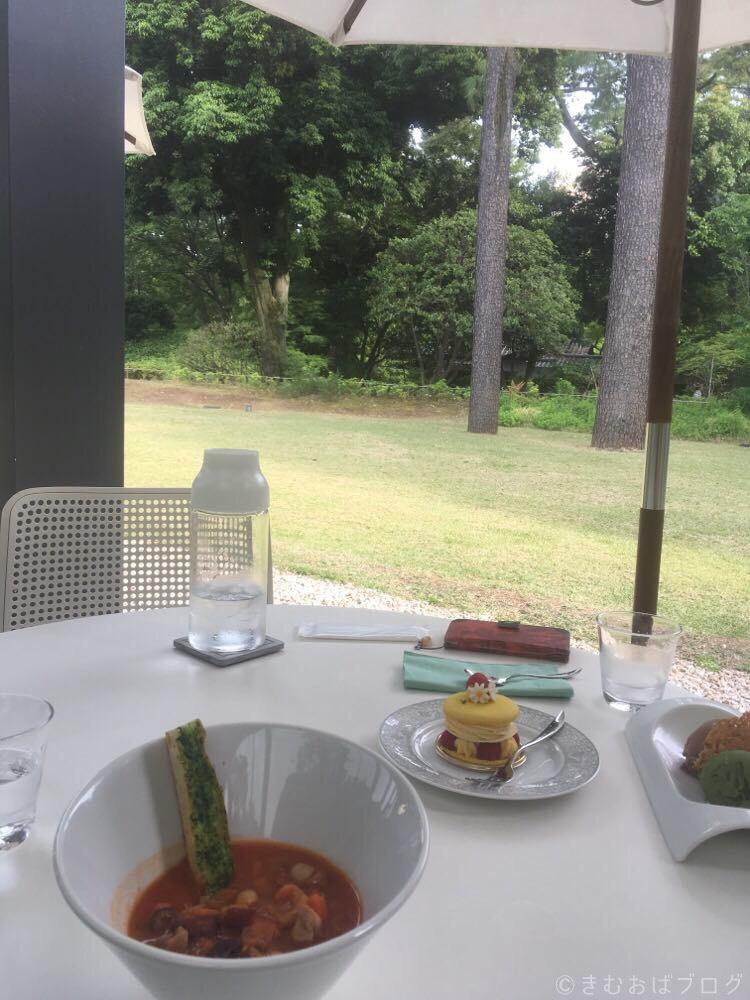 東京都庭園美術館 カフェ メニュー